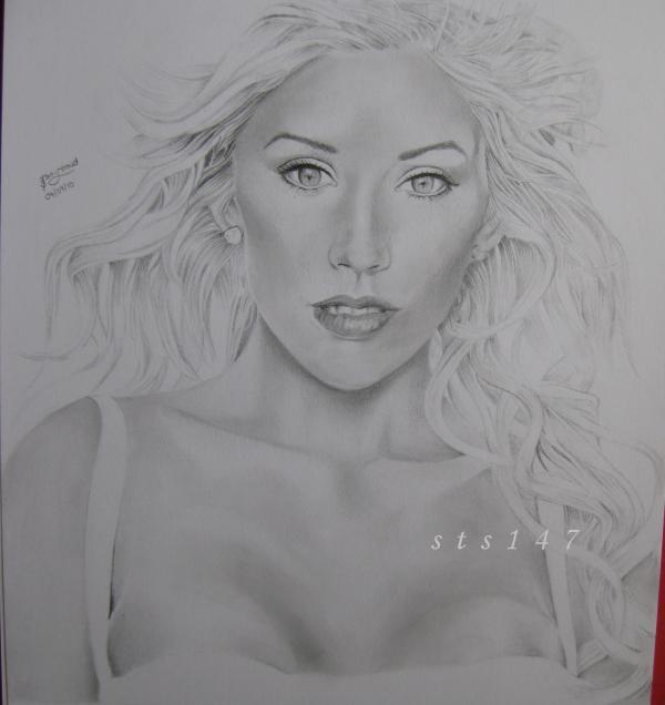 Christina Aguilera por sts147